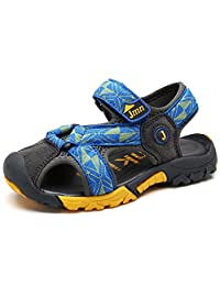SITAILE Boys Girls Summer Outdoor Athletic Strap Closed-Toe Sandal(Toddler/Little Kid/Big Kid)