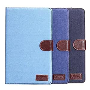 MOM PU Leather Denim Case for Samsung Galaxy Tab S 10.5 T800 (Assorted Colors) , Light Blue