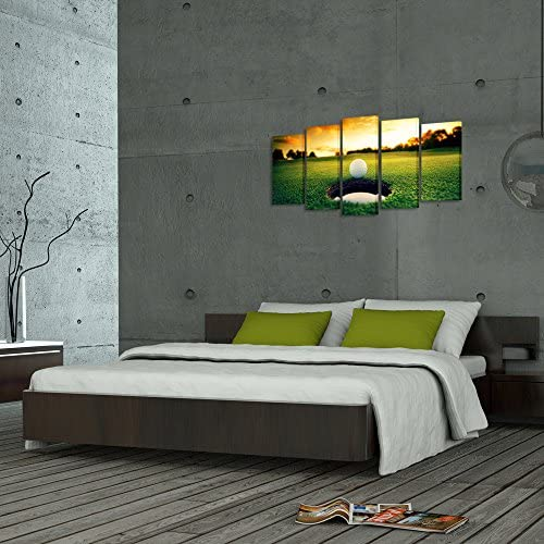 home, kitchen, wall art,  posters, prints 11 image Kreative Arts - Golf Course Scenery Canvas Wall Art in USA