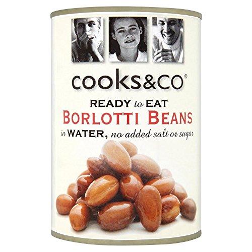 - Cooks & Co Borlotti Beans (400g)
