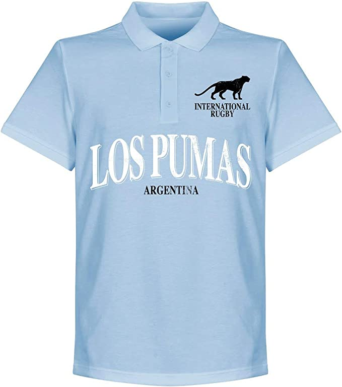 Retake Argentina - Polo de Rugby, Color Azul: Amazon.es: Deportes ...