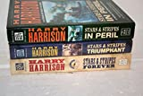 Harry Harrison Stars & Stripes Trilogy Set: In Peril; Triumphant; Forever