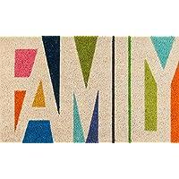Novogratz Aloha Collection Family Doormat, Multi, 16 x 26, Multicolor