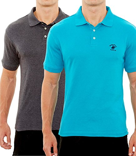 Galleon Beverly Hills Polo Club Men S Soft Touch Knit Polo With