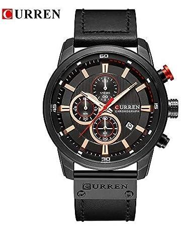 70d86b9aaee READ Curren Reloj Impermeable para Hombres