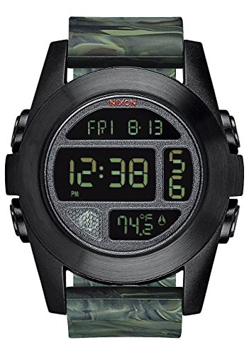 Nixon Unit Expedition Watch - Men's Marbled Camo, One Size