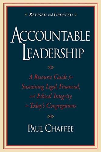 Accountable Leadership Congregations Rev