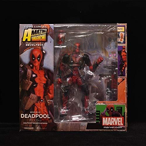 VIET FG Deadpool Figure Wolverine X Men X-Men Play Arts Kai Deadpool Wade Winston Wilson Play Art Kai PVC Action Figure 16Cm Doll Toy -Complete Series Merchandise