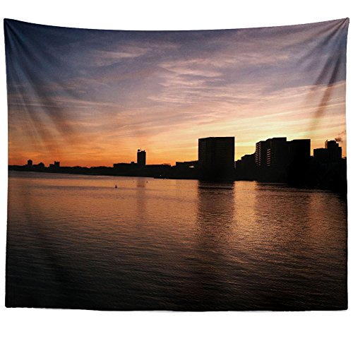 Reviews/Comments Westlake Art - Dusk Sunset Wall Hanging Tapestry Picture Photography Artwork Home Decor