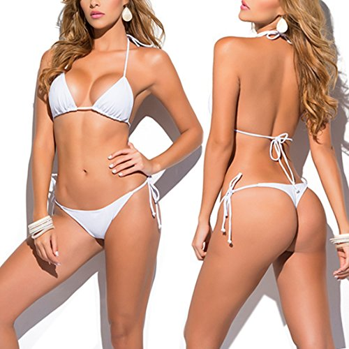 Cheap White Bikini Set in Australia - 4