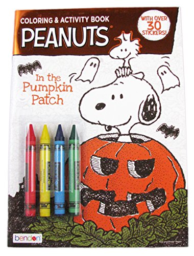 Peanuts Coloring and Activity Book - In the Pumpkin Patch