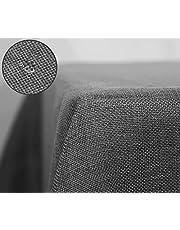 Deconovo Waterproof Faux Linen Tablecloth Wipe Clean Tablecloth 52x70in,52x90in,54x79in,54x108in,51x63in,51x87in,51x110in,55x95in 55x98in,59x95in,51x51in,59x118in,59x79in,59x59in,51x51in