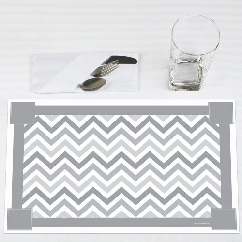Chevron-Gray-Party-Placemats-Set-of-12