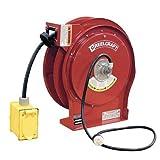 Reelcraft L-5550-123-7B 12/3 50' Power Cord Reel w/ Duplex Box