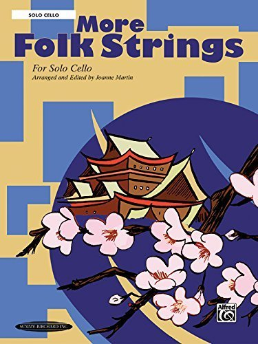More Folk Strings for Solo Instruments: Solo Cello by Joanne Martin (2003-06-01)