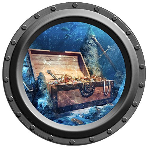 underwater-treasure-chest-porthole-wall-decal