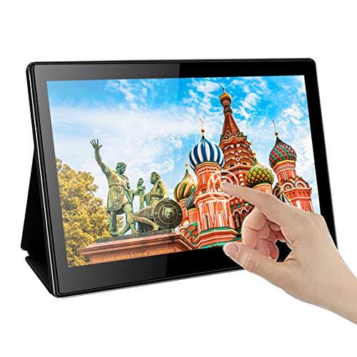 Portable USB C Touchscreen Monitor,EleDuino 13.3