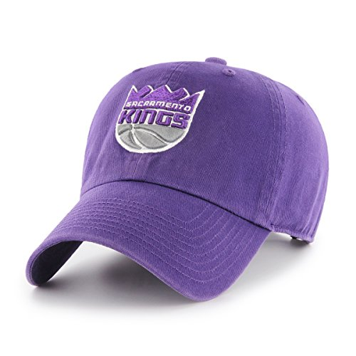 NBA Sacramento Kings OTS Challenger Adjustable Hat, Purple, One Size