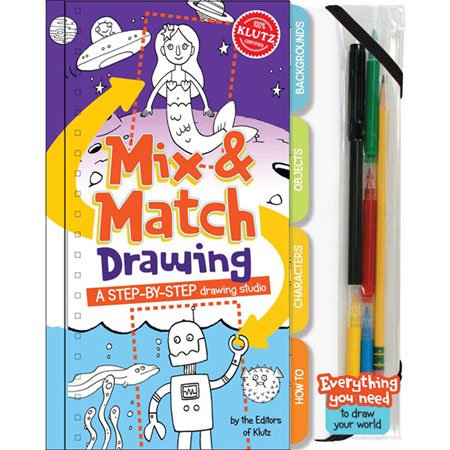 klutz mix and match drawing - 7