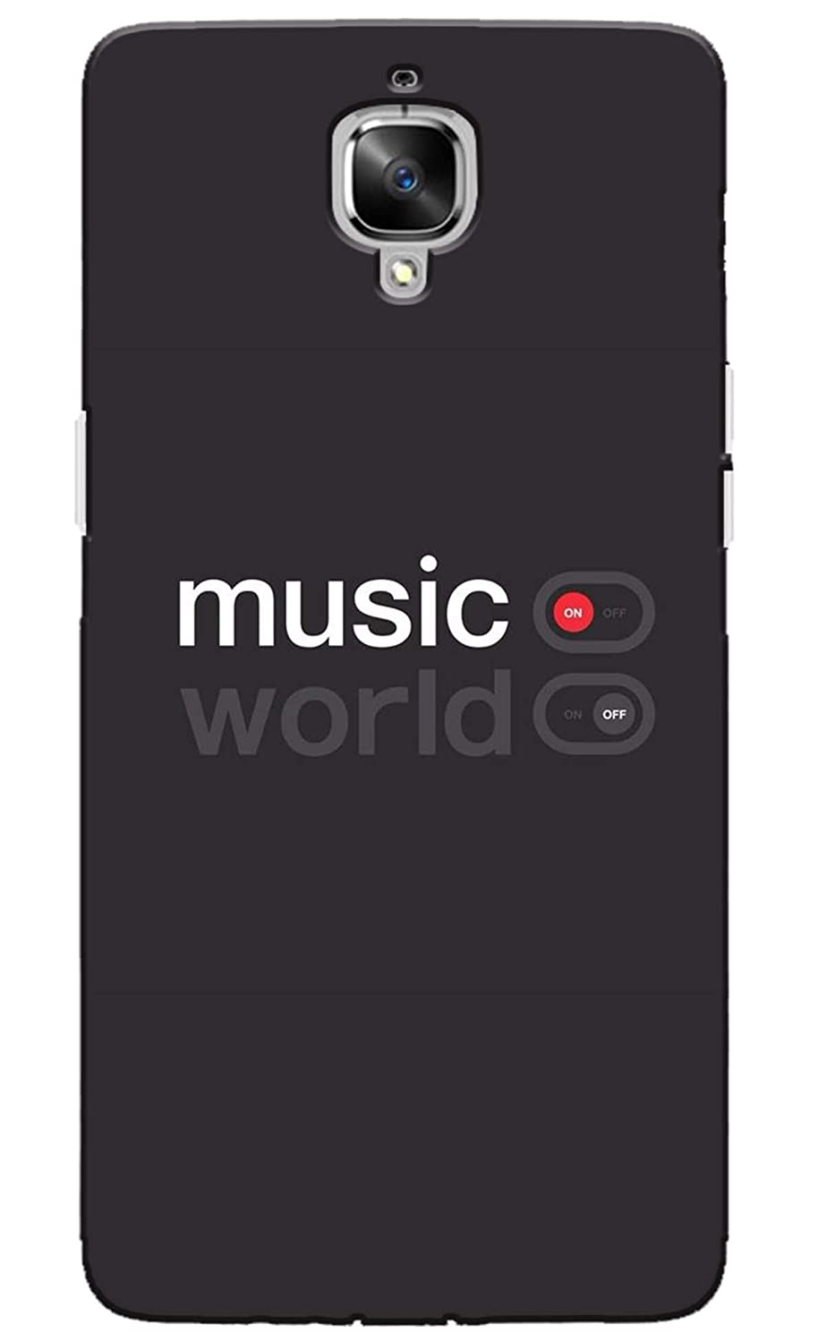 d51da9f7e57 Pikkme Music On World Off with Black Background  Amazon.in  Electronics
