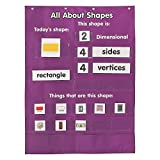 all about number chart - All About Shapes Pocket Chart