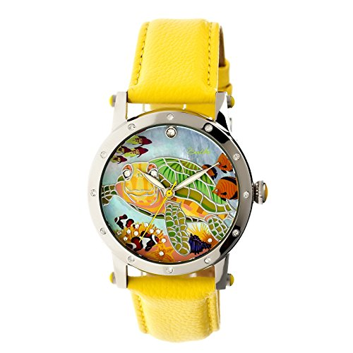 bertha-womens-br4902-chelsea-yellow-multicolor-leather-watch