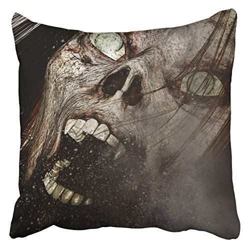 Emvency Decorative Throw Pillow Covers Cases Halloween 3D
