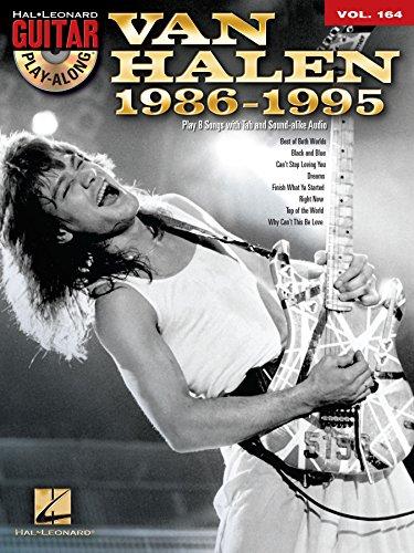 Van Halen 1986-1995 Songbook: Guitar Play-Along Volume 164 (Hal Leonard Guitar Play-Along) ()