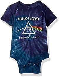 Baby Pink Floyd Dark Side Chalk Onesie