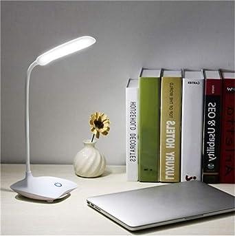 35 * 10 * 13 cm 1.5W USB Lámpara de mesa recargable 3 modos ...