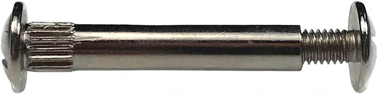 40 mm 10 X Mprofi MT/® Professionnel Meubles Vis Connexion Directe Vis Meubles connecteur M6 M/étal nickel/é 31