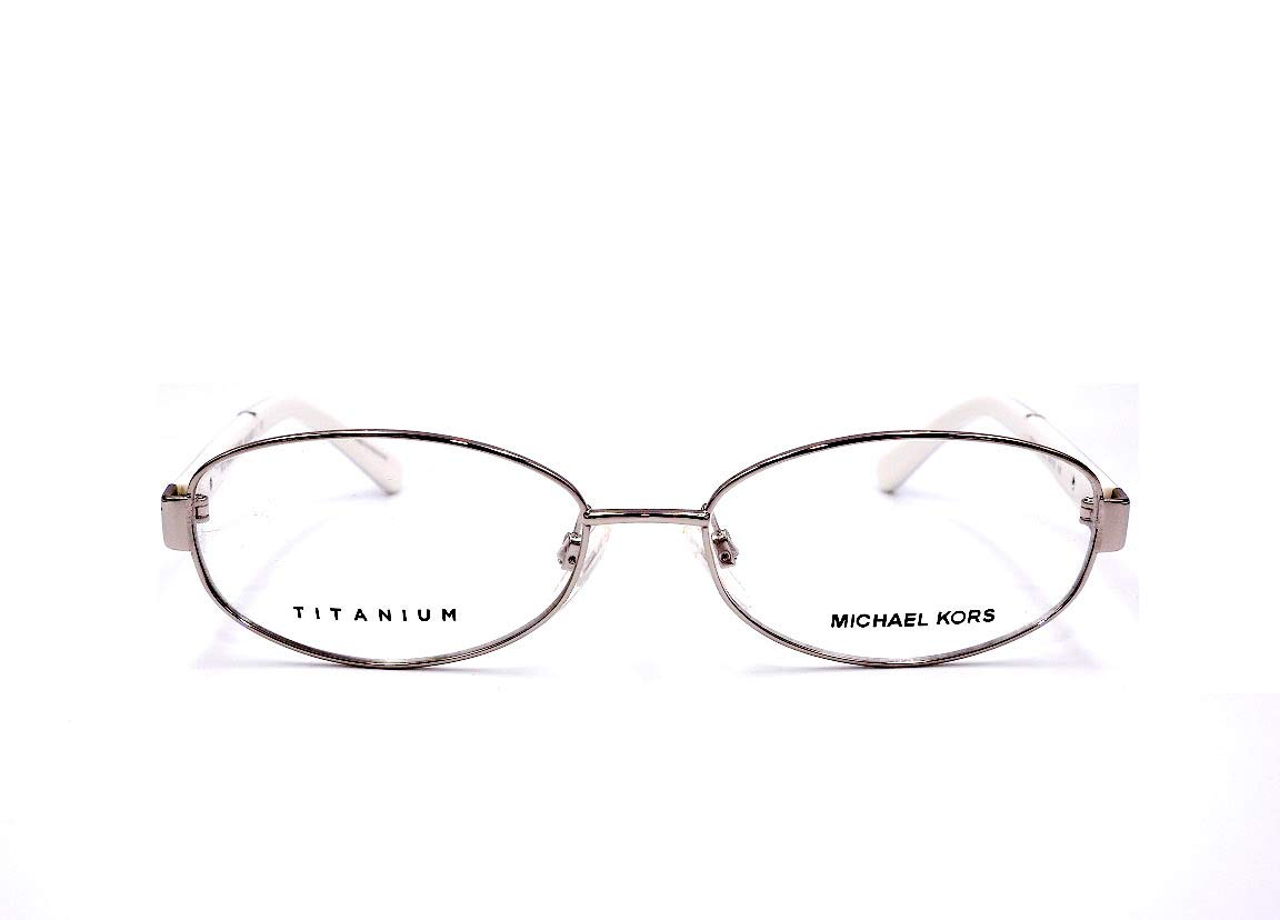 0aca7321ab7c Michael Kors MK3003DT - 1012 Asian Fit Eyeglasses Silver Titanium 54mm:  Amazon.com.au: Fashion