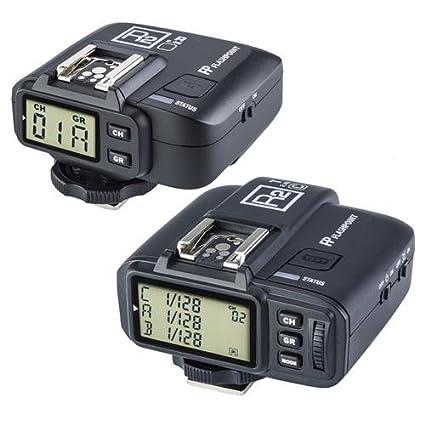 amazon com flashpoint r2 ttl wireless flash trigger set for canon