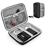 USA Gear Hard Shell Electronic Organizer Travel Case 7.5'' Inch with Weather-Resistant Exterior and Large Mesh Accessory Pocket - Holds Garmin GPS, Chargers, Hard Drives and More Electronics