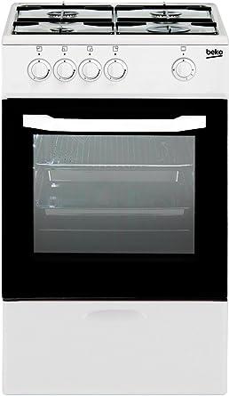 BEKO CSG-42009DW COCINAS DE Gas, Blanco, 85x50x50: 179.75: Amazon ...