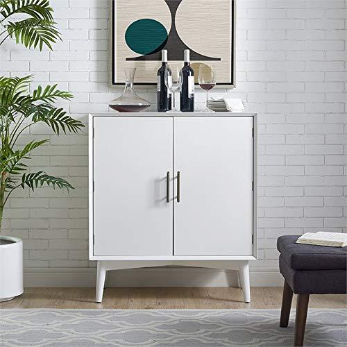 Crosley Furniture CF4403-WH Landon Mid-Century Modern Bar Cabinet, White by Crosley Furniture (Image #6)