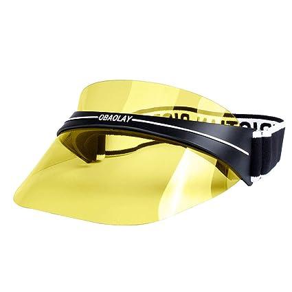SX Visera UV de Moda para el Verano, para Mujer, protección Solar al Aire