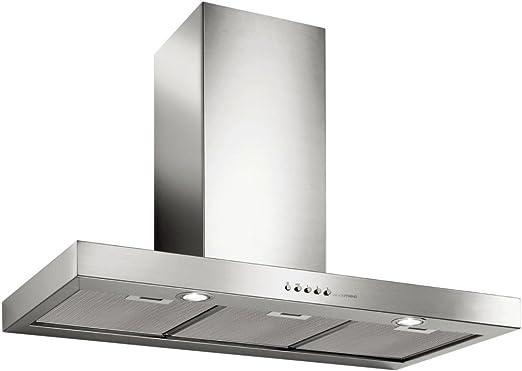 Campana extractora FALMEC a pared 90 cm mercurio acero inoxidable: Amazon.es: Hogar
