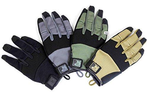 PIG Full Dexterity Tactical (FDT) Charlie - Women's Glove (Ranger Green, Medium)