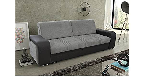 Cuba Grande sofá Cama sofá con reposabrazos de ...