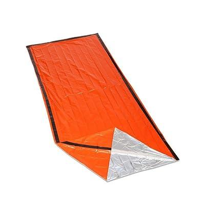 À l'extérieur Urgence Sacs de couchage Premiers secours Protection contre les rayonnements Isolation Isolation Économie de vie Sacs de couchage PE Orange
