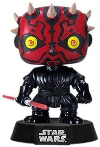 Funko PDF00003872 - Figura con cabeza móvil Darth Maul, Star Wars (PDF00003872) - Figura Head Darth Maul (10 cm)