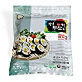 Moosankim Organic Seaweed for Kimbap 100 sheets without Acid Treatment