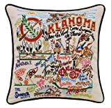 Catstudio Oklahoma Pillow - Original Geography Home Décor 046(CS)