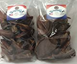 Pig Ears, Full, 25 Packs,Sourced and Made in USA, All natural hickory smoked (2)