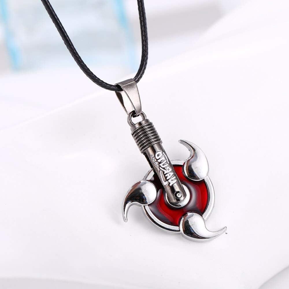 Algol NARUTO Alloy plating necklace Anime Kakasi Uzumaki sha rinn gann new movie gifts Naruto pendant 2015 Anime jewelry