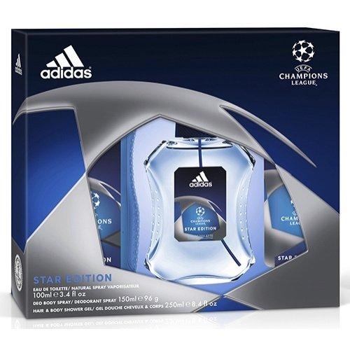 Estuche Colonia Adidas Uefa 2 Man 100ml + Desodorante + Gel: Amazon.es: Alimentación y bebidas