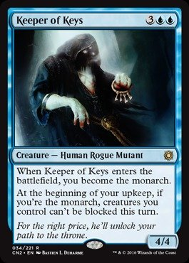 Magic: the Gathering - Keeper of Keys (034/221) - Conspiracy 2: Take the (Type Key Keeper)