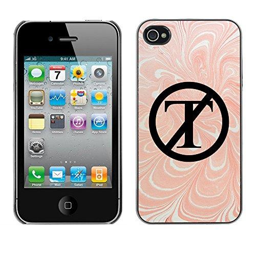 Print Motif Coque de protection Case Cover // Q04130556 PAS de marbre de triomphe // Apple iPhone 4 4S 4G