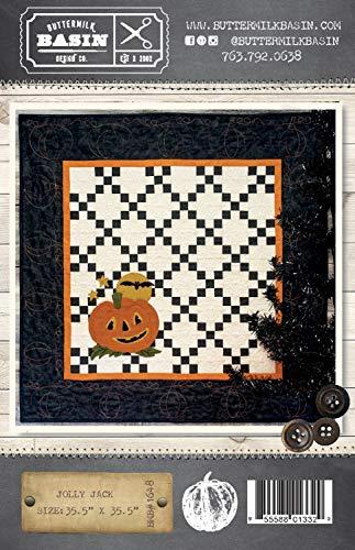 Jolly Jack Halloween Quilt Pattern - by Buttermilk Basin - Wool Applique - BMB 1648 35.5